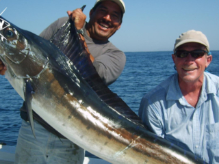 Swordfish trophy Mag Bay Mexico