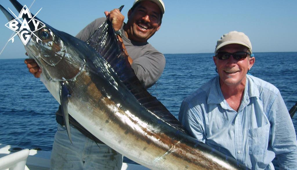 Swordfish trophy Mag Bay Mexico