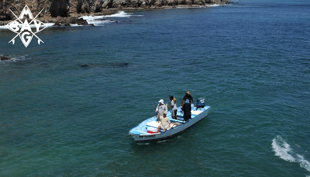 Fishing Ponga Mag Bay Mexico