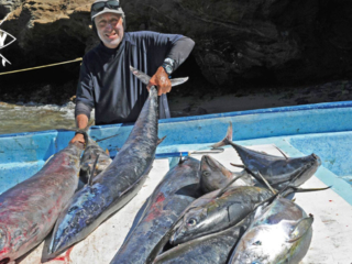 fish catch of the day Mag Bay Mexico