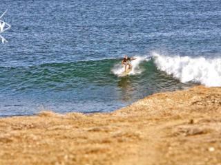 Longboard wave, Mag Bay Mexico