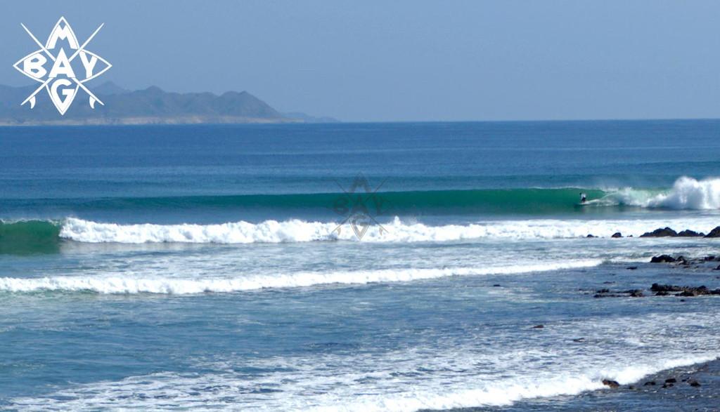 Wave lines, Mag Bay Mexico