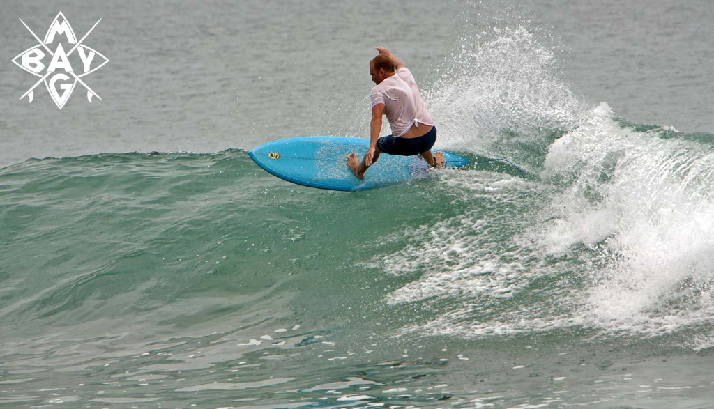 surfer does off the lip, Mag Bay Mexico