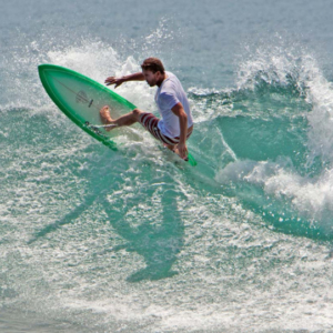 surfer doing off the lip, Mag Bay Mexico