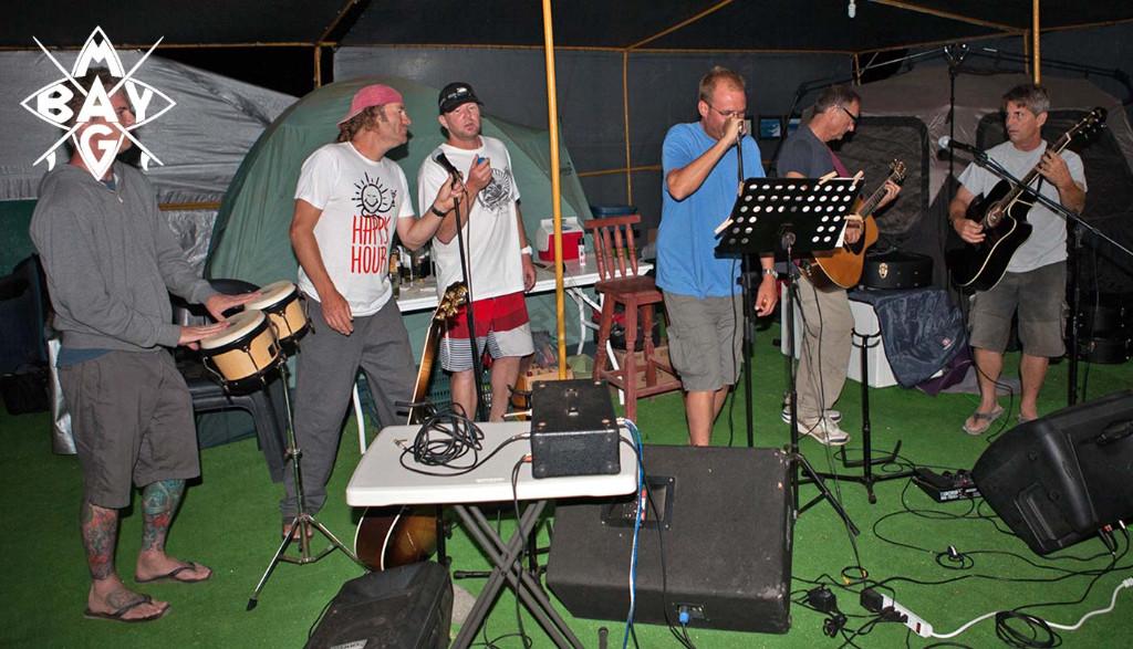Men playing music, Mag Bay mexico