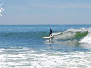Long Board surfer, Mag Bay Mexico