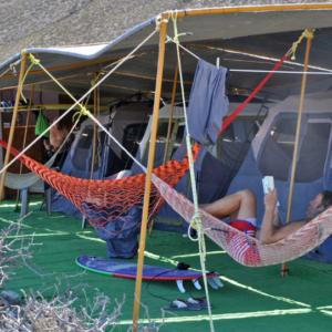 Hammock relaxing, Mag Bay Mexico